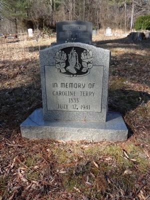 Grave of Sister Caroline Photo, Click for full size