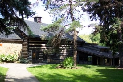 Log Grist Mill, now Mountain Playhouse image. Click for full size.