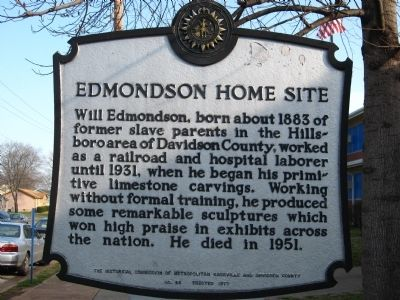 Edmondson Home Site Marker image. Click for full size.