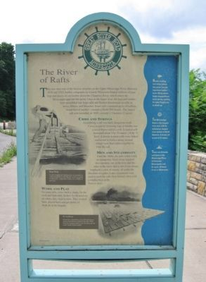 The River of Rafts Marker image. Click for full size.