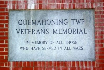 Quemahoning Twp Veterans Memorial image. Click for full size.