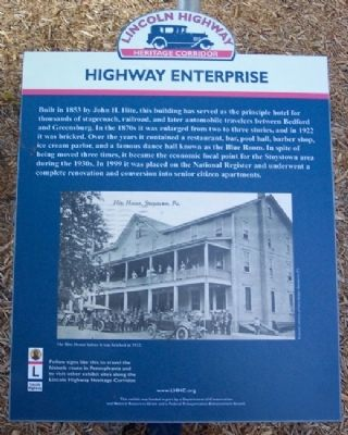 Highway Enterprise Marker image. Click for full size.