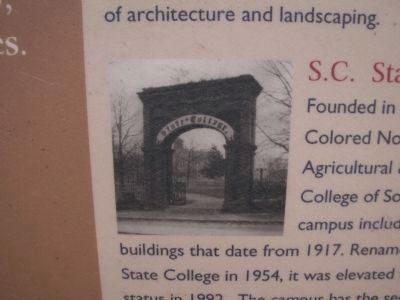 S.C. State University image. Click for full size.