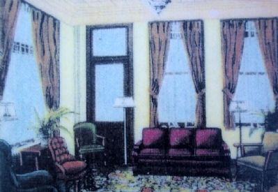 Penn-Eben Hotel Lounge Photo on Marker image. Click for full size.