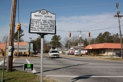 Trinity School Marker image. Click for full size.