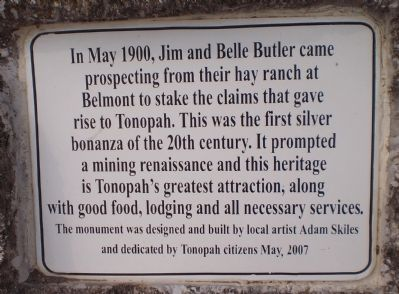 Jim and Belle Butler Marker image. Click for full size.