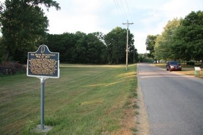 Eel River Battlefield Marker Photo, Click for full size