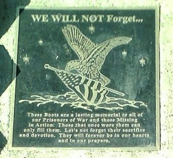 We Will Not Forget... Marker image. Click for full size.