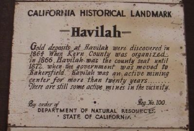 Havilah Marker image. Click for full size.