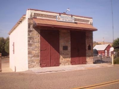 Hornitos Masonic Hall image. Click for full size.