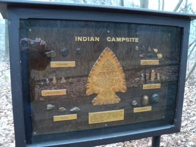 Indian Campsite Marker image. Click for full size.