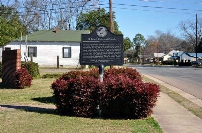 St. Luke�s Episcopal Church Marker image. Click for full size.
