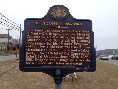 John Brophy Marker image. Click for full size.