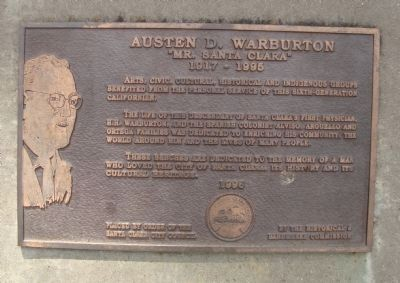 Austen D. Warburton Marker image. Click for full size.