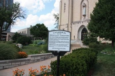 Cathedral of Immaculate Conception Marker image. Click for full size.