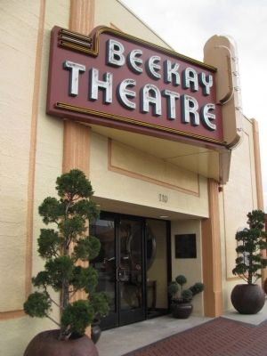 Beekay Theatre Marker image. Click for full size.