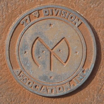 27th. Division insignia image. Click for full size.