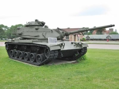 Nearby M60A3 Tank image. Click for full size.