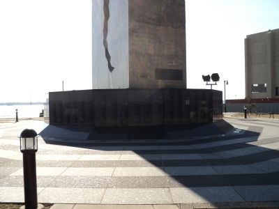 Monument to the Struggle Against World Terrorism Marker image. Click for full size.
