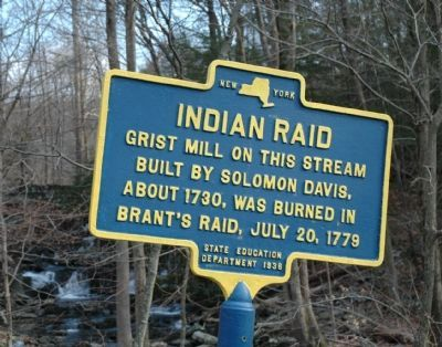Indian Raid Marker image. Click for full size.