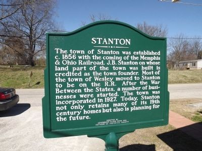 Stanton Marker image. Click for full size.