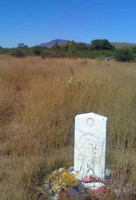 Pioneer Cemetery Photo, Click for full size