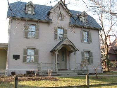 Harriet Beecher Stowe House image. Click for full size.