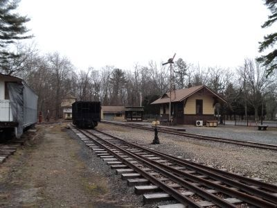Freneau Station at the NJ Museum of Transportation image. Click for full size.