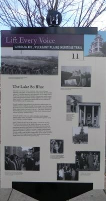 """The Lake So Blue Marker"" image. Click for full size."