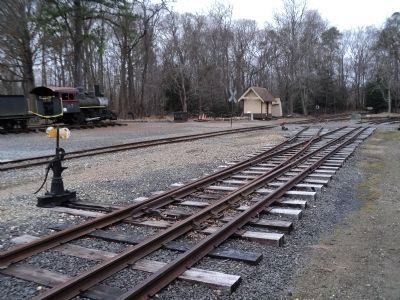 Modern Railroad Tracks image. Click for full size.