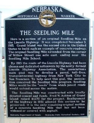 The Seedling Mile Marker image. Click for full size.