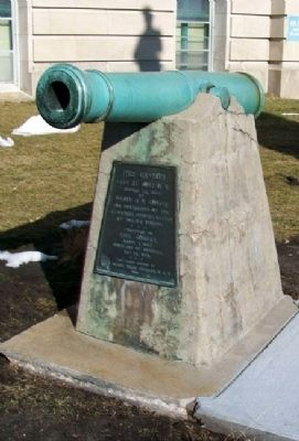 Fort O. K. Cannon and Marker image. Click for full size.