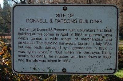 Site of Donnell & Parsons Building Marker image. Click for full size.