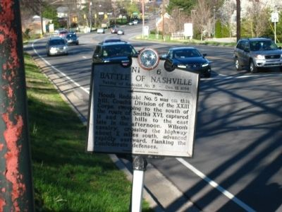 Battle of Nashville Marker image. Click for full size.