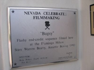 Nevada Celebrates Filmmaking Marker image. Click for full size.