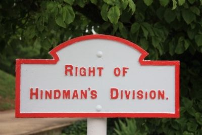 Hindman's Division Marker image. Click for full size.