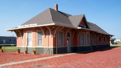 Union Pacific Railroad Passenger Depot image. Click for full size.