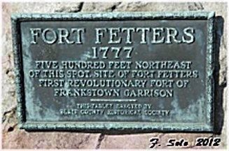 Fort Fetters Exterior Marker image. Click for full size.