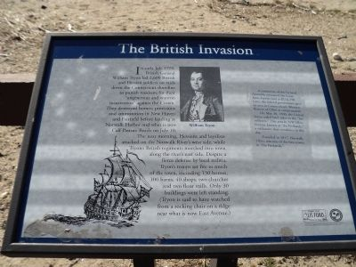 The British Invasion Marker image. Click for full size.