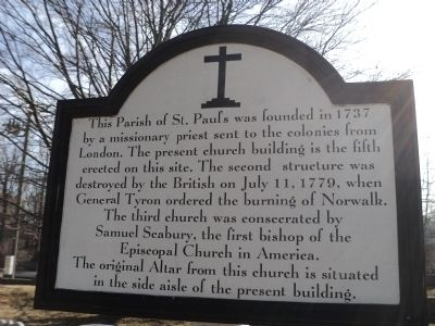 Parish of St. Paul�s Marker image. Click for full size.