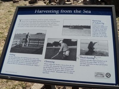 Harvesting from the Sea Marker image. Click for full size.