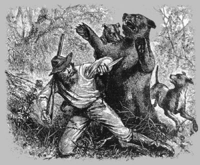Mountain Charlie's Bear Fight image. Click for full size.
