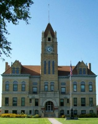 Osborne County Courthouse image. Click for full size.