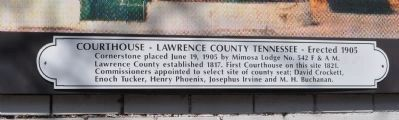 Courthouse Mural plaque image. Click for full size.
