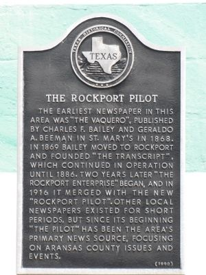 The Rockport Pilot Marker image. Click for full size.