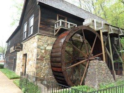 The Meadow Run Grist Mill image. Click for full size.