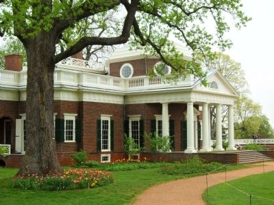 Beautiful Monticello Jefferson's Family Home image. Click for full size.