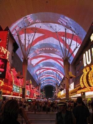 Fremont Street at Night. image. Click for full size.