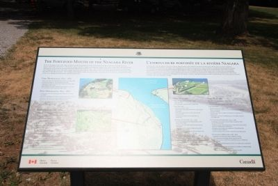 The Fortified Mouth of the Niagara River Marker image. Click for full size.
