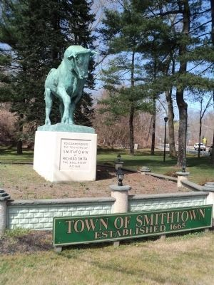 Marker in the Town of Smithtown image. Click for full size.
